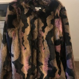 Bar lll fur coat.